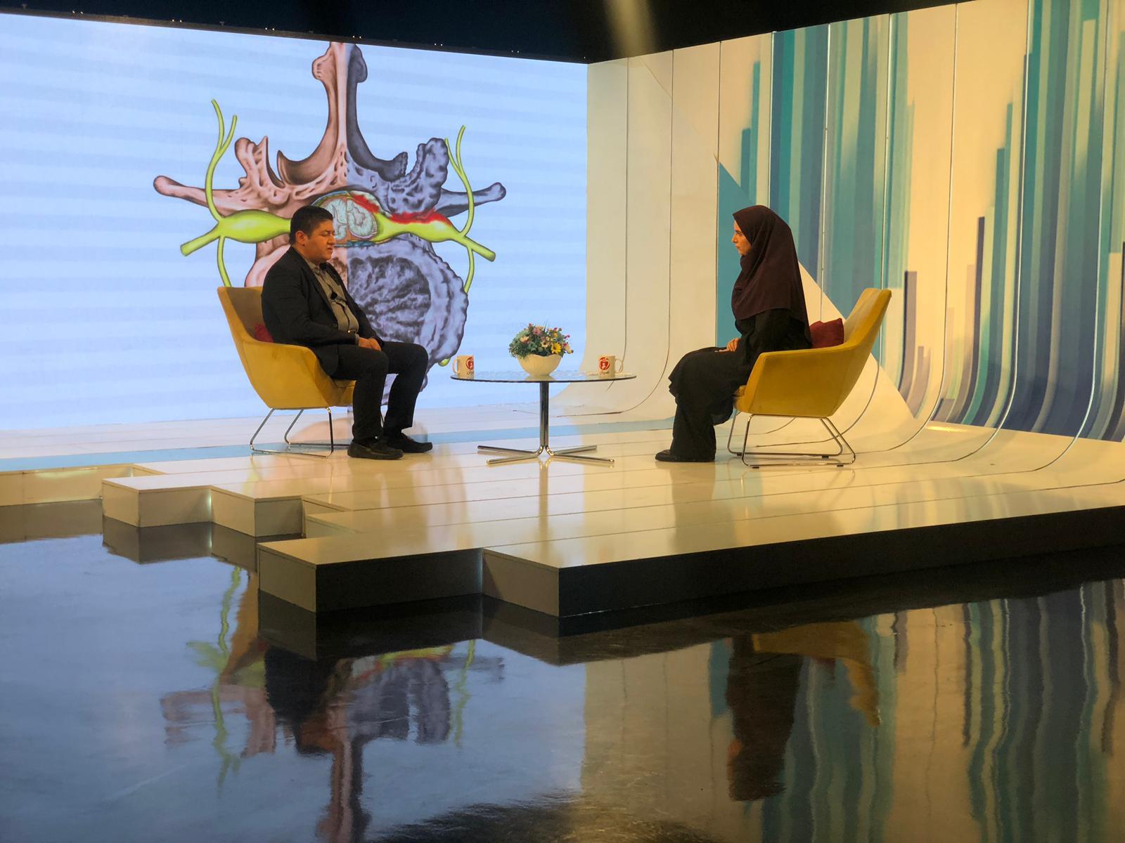 مصاحبه دکتر گیو شریفی در شبکه سلامت