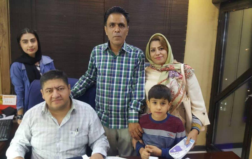 بیمار کیاری از تبریز